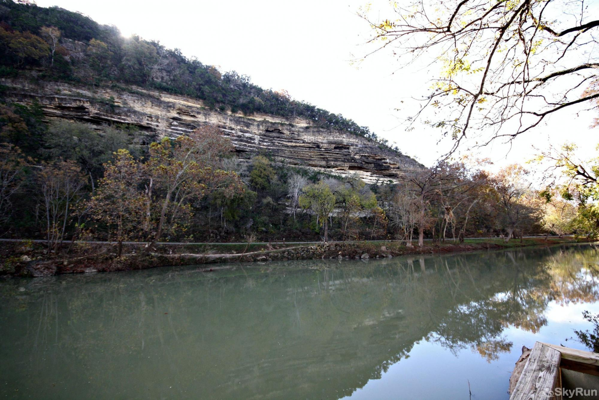 RIO VISTA ON THE GUADALUPE View of Hillside from Property