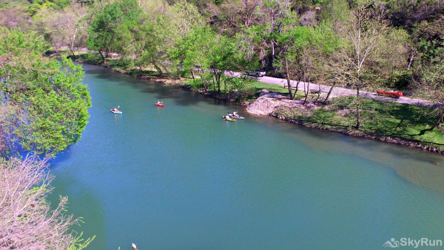 STAR OF TEXAS Popular Area for Swimming, Tubing, and Kayaking