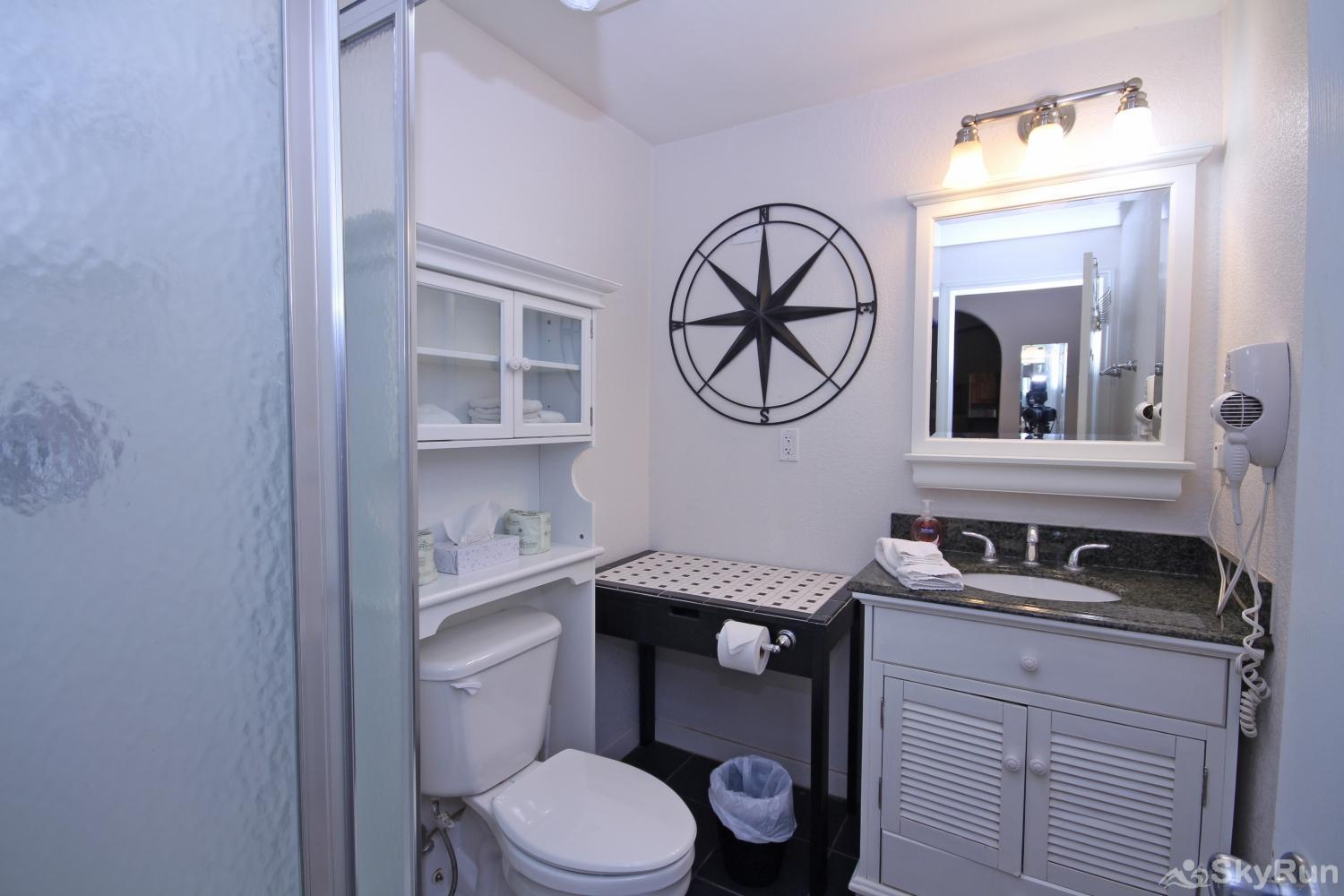 STAR OF TEXAS AND COTTAGE COMBO Second Bathroom with Walk- In Shower